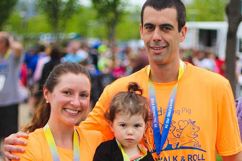 Flying Pig Marathon Run, Walk and Roll