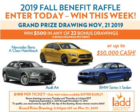Car Raffle - LADD Inc