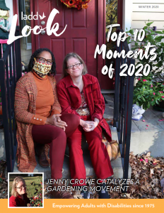 Photo of LADD Look magazine cover.